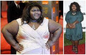 Aktorė Gabourey Sidibe pasidarė skrandžio mažinimo operaciją: rezultatai jau matyti