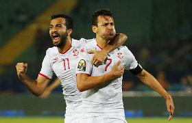 Afrikos futbolo čempionatas: Tunisas nutraukė Madagaskaro pasaką