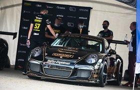 "Intriga ""Dynami:t Energy"" komandos viduje: ar ""Corvette"" gali Palangoje aplenkti ""Porsche""?"
