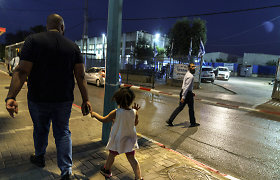 Iš mišraus Izraelio miesto Lodo nesitraukia įtampa