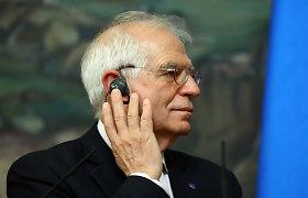 J.Borrellis: ES turi stabdyti Rusiją, išsaugodama ryšio kanalus, kur interesai sutampa
