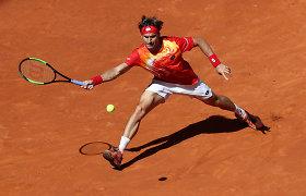 Dar ne pabaiga: paskutinį turnyrą karjeroje žaidžiantis D.Ferreras palaužė tautietį