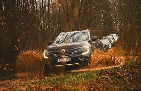 """Išmurkdėme naują """"Renault Koleos"""" priemiesčio pelkėse – kuo baigėsi bandymas?"""