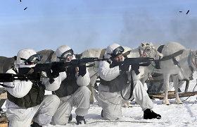 Rusijos kariuomenė surengė naujas pratybas Arktyje