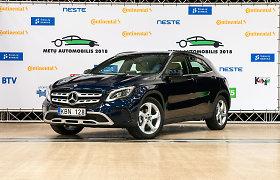 """""""Metų automobilio 2018"""" komisija apie """"Mercedes–Benz GLA"""": ras savo pirkėją"""