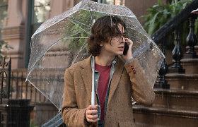 """Komediją """"Lietinga diena Niujorke"""" kinuose pristatantis Woody Allenas jau paskelbė apie naują filmą"""