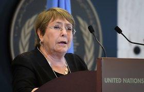 JT: pasaulis išgyvena didžiausią žmogaus teisių nesėkmių kaskadą