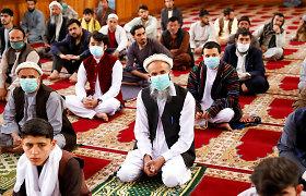 Afganistano Talibanas paskelbė trijų dienų paliaubas Id al Fitro šventei
