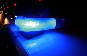 Policijos persekiotas automobilis vertėsi, jo keleiviai – sužaloti