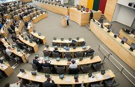 Visuomenininkai, politologai ragina nemažinti Seimo narių skaičiaus
