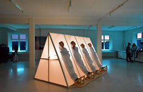 """Festivalio """"Yaga Gathering"""" Koncepto scenoje – instaliacijos ir miško glūdomoje šokamas baletas"""