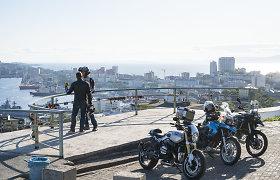 Prieš metus į kelionę motociklais aplink pasaulį leidęsi Asta Dovydėnaitė ir Linas Mockevičius