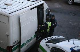 Vagyste įtariamas pacientas pasidžiaugė laisve kelias valandas: spruko nuo Jonavos policijos