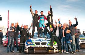 """1000 km Parnu powered by Hankook"" lenktynes laimėjo ""Rotoma Racing"""