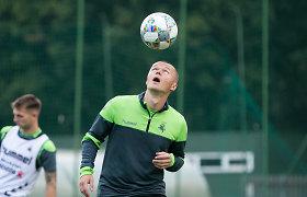 """Darvydas Šernas apie ateitį futbole: """"Kokie planai, kai tau tuoj 35-eri?"""""""