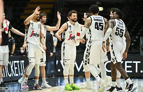 """Bolonija to laukė 20 metų: """"Virtus"""" krepšininkai – Italijos čempionai"""