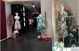 Ką norėjo pasakyti Dolce&Gabbana, dekoravę audinius būgnų tūzais ir hortenzijų žiedais?