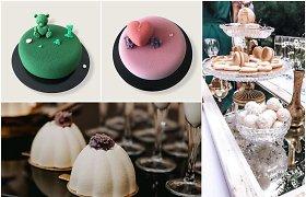 Ingos kuriami desertai gimsta mažoje daugiabučio virtuvėje