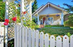 Kaip dažyti medinį namą – ekspertai pristato 7 darbų etapus