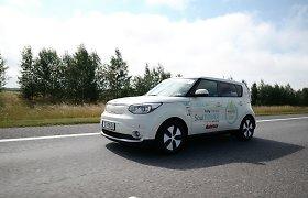 Lietuviai užsibrėžė ambicingą tikslą: elektromobiliu įveiks 1006 km