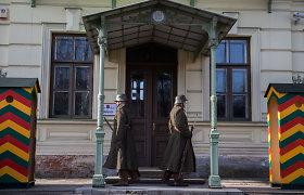 Vasario 16-ąją į Kauno komendanto rūmų sargybos postą sugrįžo tarpukario kariai