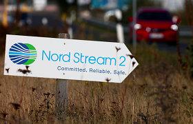 """Kremlius: Rusija gins savo interesus, jei JAV išplės sankcijas """"Nord Stream 2"""""""