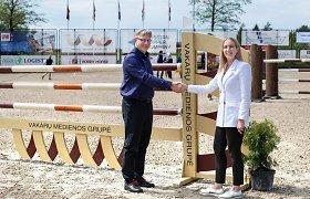 VMG grupė tapo pagrindine Lietuvos žirginio sporto federacijos rėmėja