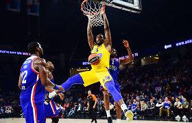 """Iš Sankt Peterburgo """"Zenit"""" aukštaūgis šoka atgal į NBA"""