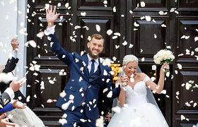 Krepšininkas Simas Buterlevičius vedė Gretą Milerytę: piršlybos Paryžiuje, vestuvės Tauragėje