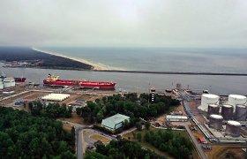 """Baltarusija derasi su """"Lukoil"""" dėl naftos produktų eksporto per jo terminalą Vysocke"""