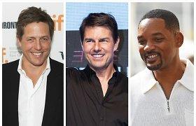 Testas nuo A iki Z: ar pažinsite bent 15 iš 22 garsių vyrų – Holivudo aktorių?
