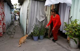 Per 1985 m. žemės drebėjimą namų netekę meksikiečiai vis dar glaudžiasi lūšnyne