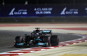 Pirmąjį šių metų F-1 sezono etapą Bahreine laimėjo Lewisas Hamiltonas