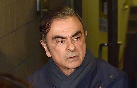 """""""Renault"""" teikia civilinį ieškinį C.Ghosnui"""