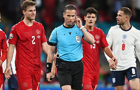 """""""Euro 2020"""" klaida įpykdė teisėją-milijonierių: """"Geriausias buvo išsiųstas namo"""""""