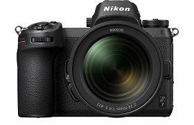 """""""Nikon"""" pristatė du viso kadro neveidrodinius fotoaparatus Z7 bei Z6"""
