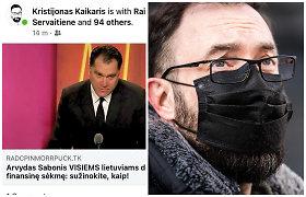 """Nulaužė """"Citybee"""" vadovo feisbuko paskyrą: įsilaužėlis iš Vilniaus paleido melagieną apie A.Sabonį, K.Kaikaris nenaudojo 2FA"""