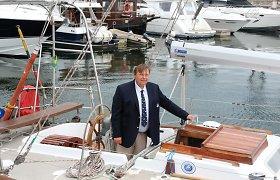 """Remonto laukiančios jachtos """"Lietuva"""" kapitonas apie laukiančią odisėją: senutei tai didelis iššūkis"""