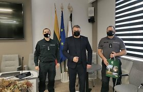 Pagėgių policijos komisariato vadovu tapo M.Jakštas