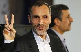 Irane dėl kyšininkavimo įkalintas buvęs viceprezidentas