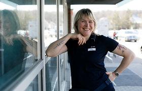 """""""Freelancerė"""" apdailininkė Silvija iš emigracijos grįžo į Alytų: aplinkinius moko britiško požiūrio į žmogų"""