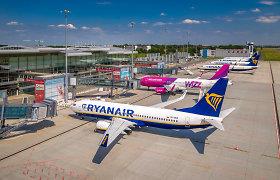 Žiemą Jungtinės Karalystės oro uostams gali kilti sunkumų
