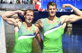 Olimpinių vicečempionų bėdos: ar sidabro vyrams teks išsiskirti?
