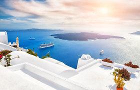 Kruizų gigantė liepą plukdys maršrutais Graikijoje, bet tik pasiskiepijusius