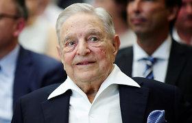 Ne, G.Sorosas nėra sulaikytas dėl kišimosi į JAV prezidento rinkimus
