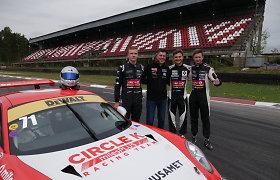 """Šiaurės šalių ilgų nuotolių lenktynėse triumfavo """"Circle K Racing Team"""""""