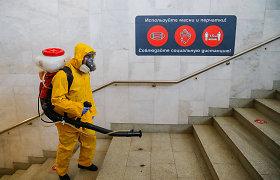Išaugus mirčių nuo COVID-19 skaičiui Maskva grąžina darbuotojus į nuotolinį darbą