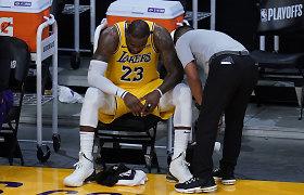 """Karalius – išverstas iš sosto: """"Suns"""" eliminavo """"Lakers"""" iš kovos dėl titulo"""