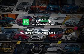 """Paskutinis šansas ir didžiulė intriga: jūs dar galite lemti, kas taps """"Tautos automobiliu 2021 m."""""""