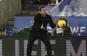 """Po eilinio """"Chelsea"""" pralaimėjimo F.Lampardas – piktas: """"Man neramu"""""""